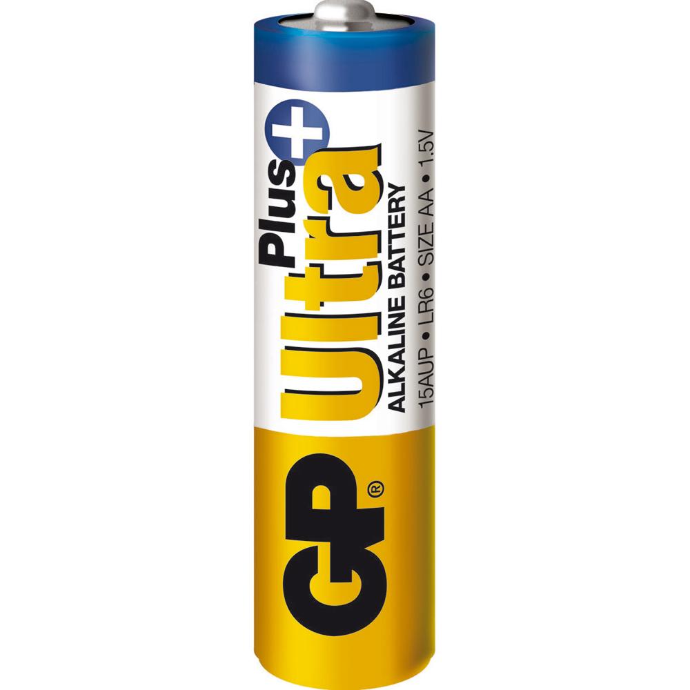 Afbeelding van 03015AUPU4 batterij Ultra+ Alkaline AA 4 stuks