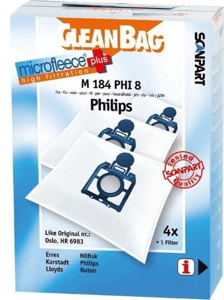 Afbeelding van M184PHI8 Stofzuigerzak voor Philips