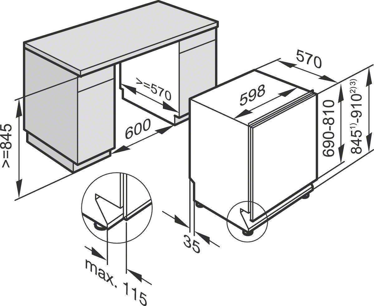 miele g4268scvixxl active g 4268 scvi xxl active vaatwasser. Black Bedroom Furniture Sets. Home Design Ideas